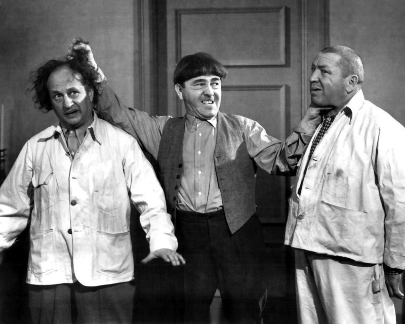 "Three Stooges~Disorder~Courtroom~Attorney~Photo~Decor~Poster~ 16/"" x 20/"""